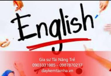 Giáo viên dạy tiếng Anh tại gia