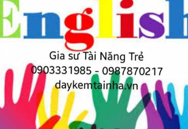 Giáo viên dạy tiếng Anh tại nhà