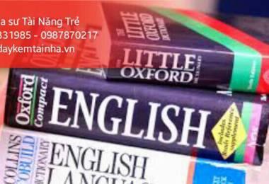 Giáo viên dạy tiếng Anh tại nhà TPHCM