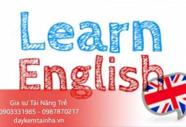 Nên tìm gia sư dạy tiếng Anh ở đâu?
